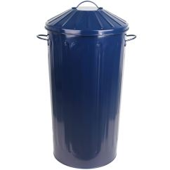 Small Recycling Bins For Kitchen Apartment Cabinet Ideas Metal 50 Litre Round Colour Recycle Dustbin