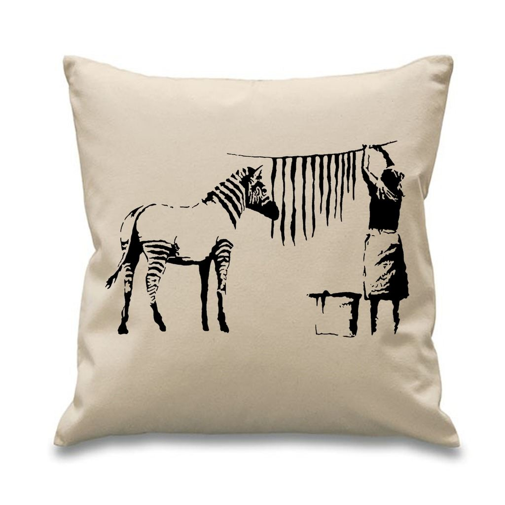 cleaning down filled sofa cushions manhattan leather sleeper banksy washing and hanging out zebra stripes 18 quot x