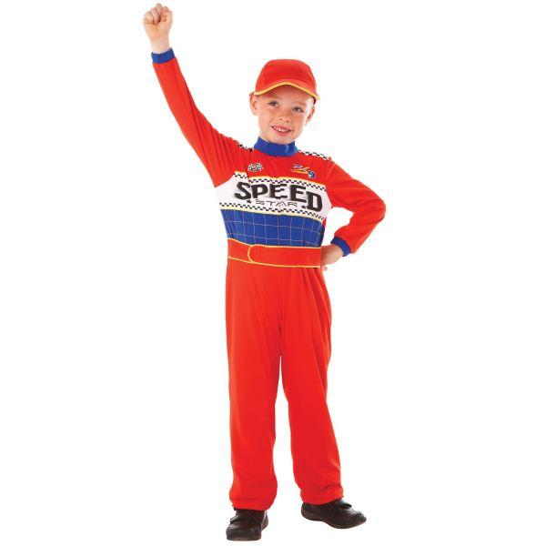 Boys Nascar Race Car Driver Speed Racer Halloween