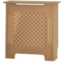 Radiator Cover Unfinished Traditional Modern MDF Wood ...