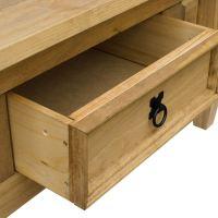 Corona Panama Coffee Table Nest Of Tables Solid Waxed Pine ...