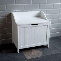Priano Bathroom Laundry Cabinet Storage Bin Chest Basket ...