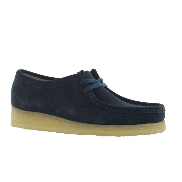 Clarks Original Wallabee Midnight Womens Shoes
