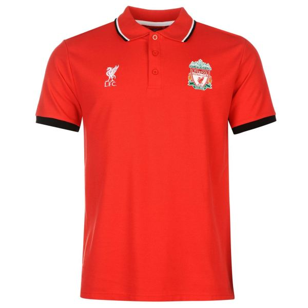 Liverpool Fc Polo Shirt Source Lab Mens Red Football