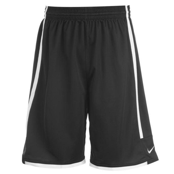 Nike League Shorts Mens Black White Basketball