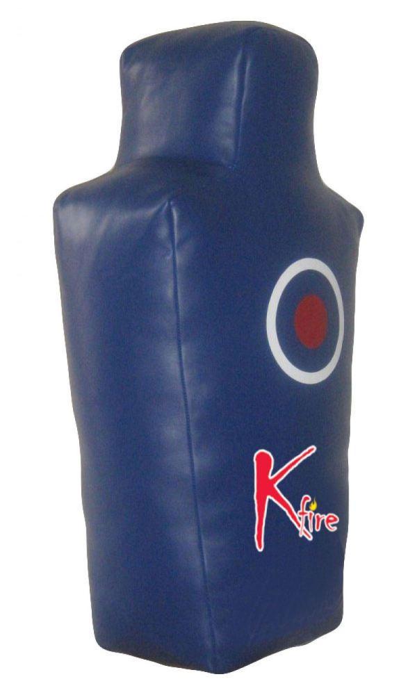 Kfire Anatomy Shaped Punching Leather Bag Mma Dummy