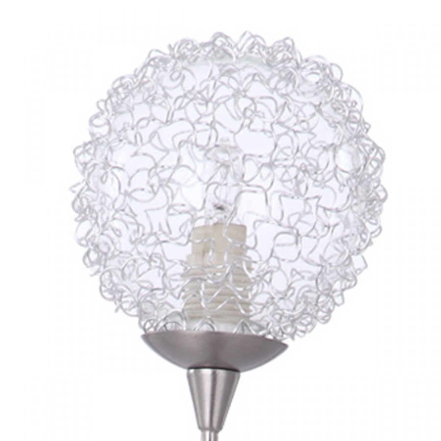 Spare Part Replacement Clear Glass Crystal Effect Lamp