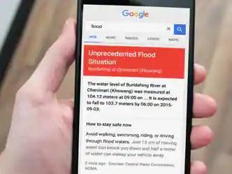 बाढ़ और नदियों के खतरे का ALERT जारी करेगा गूगल