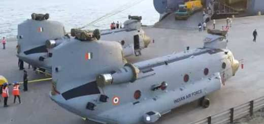 WATCH : How IAF's Chinook Helicopters are unpacked at Gujarat's Mundra Port
