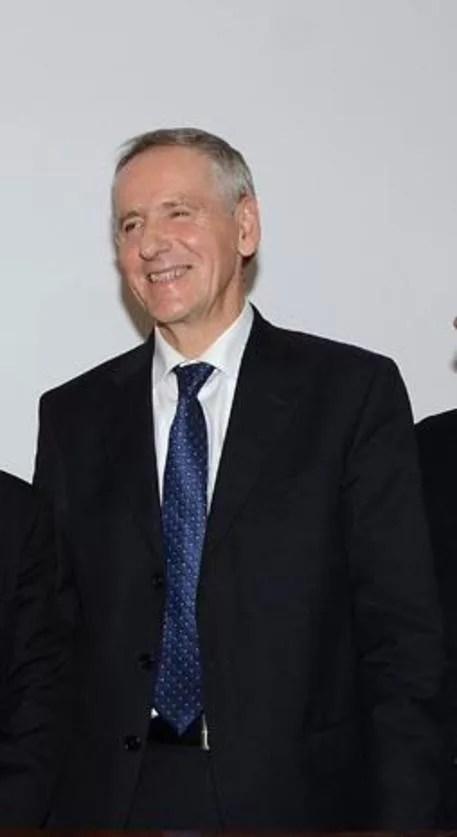 Il nuovo rettore dell'Università di Urbino Vilberto Stocchi