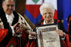 Liliana Segre dottorato
