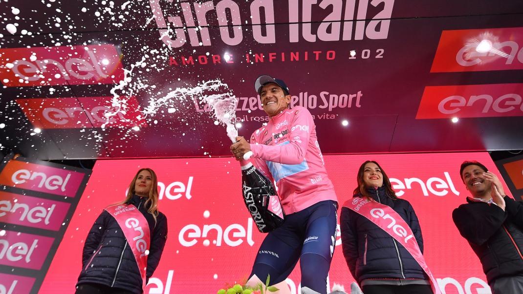 l Giro d'Italia 2020 partirà a ottobre da Palermo