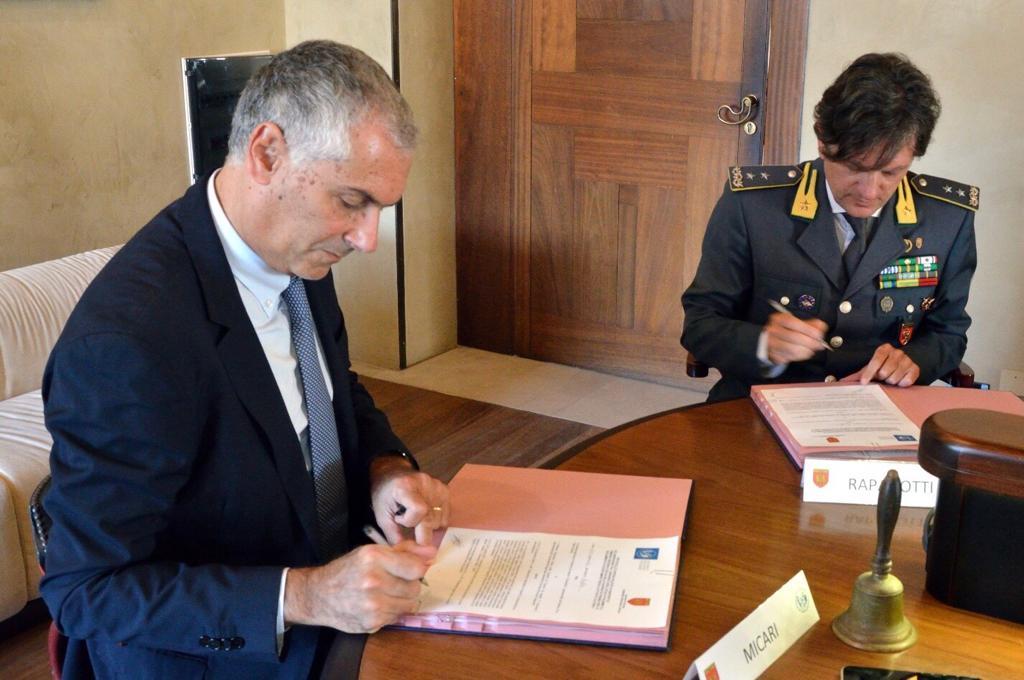 Unipa e GDF insieme per lo svolgimento di attività culturali e accertamenti fiscali
