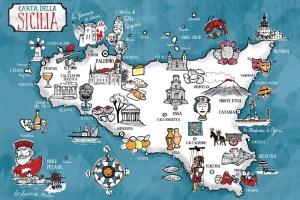 mappa beni culturali siciliani