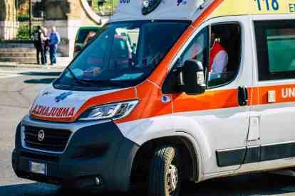 ambulanza interviene