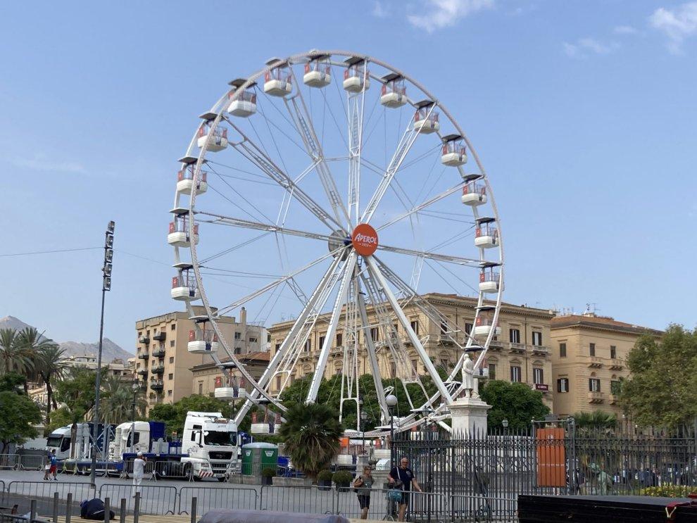 ruota panoramica Aperol