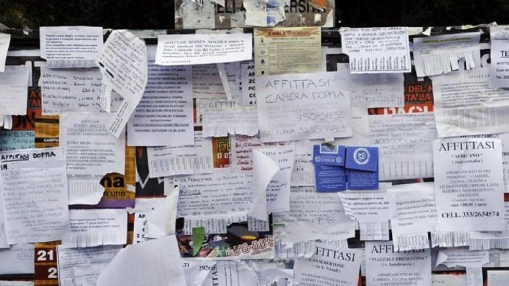 stanze affitto studenti universitari indagine