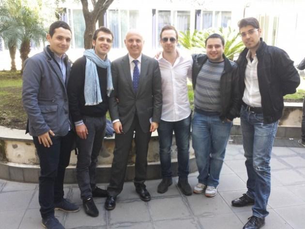 Prof. Faraci e team PlanYourTrip