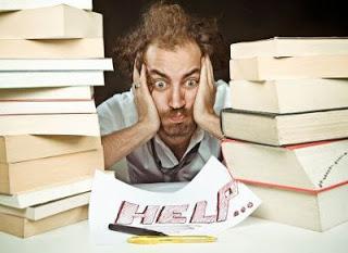 studente stressato