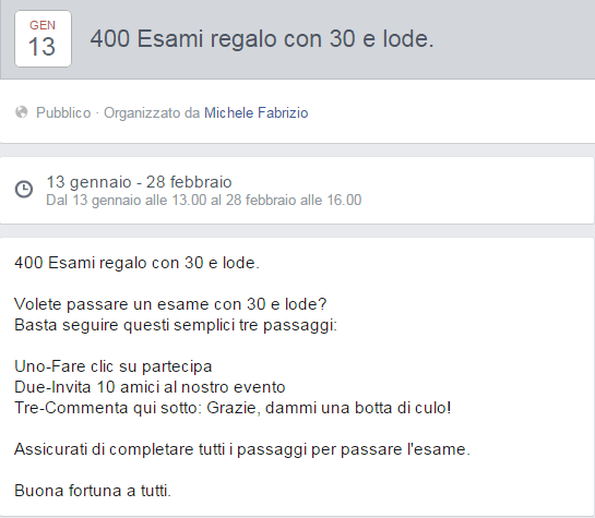 400 esami