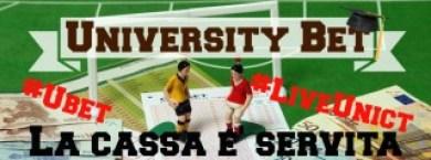 LA CASSA E' SERVITA #ubet #liveunict