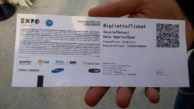 biglietto expo