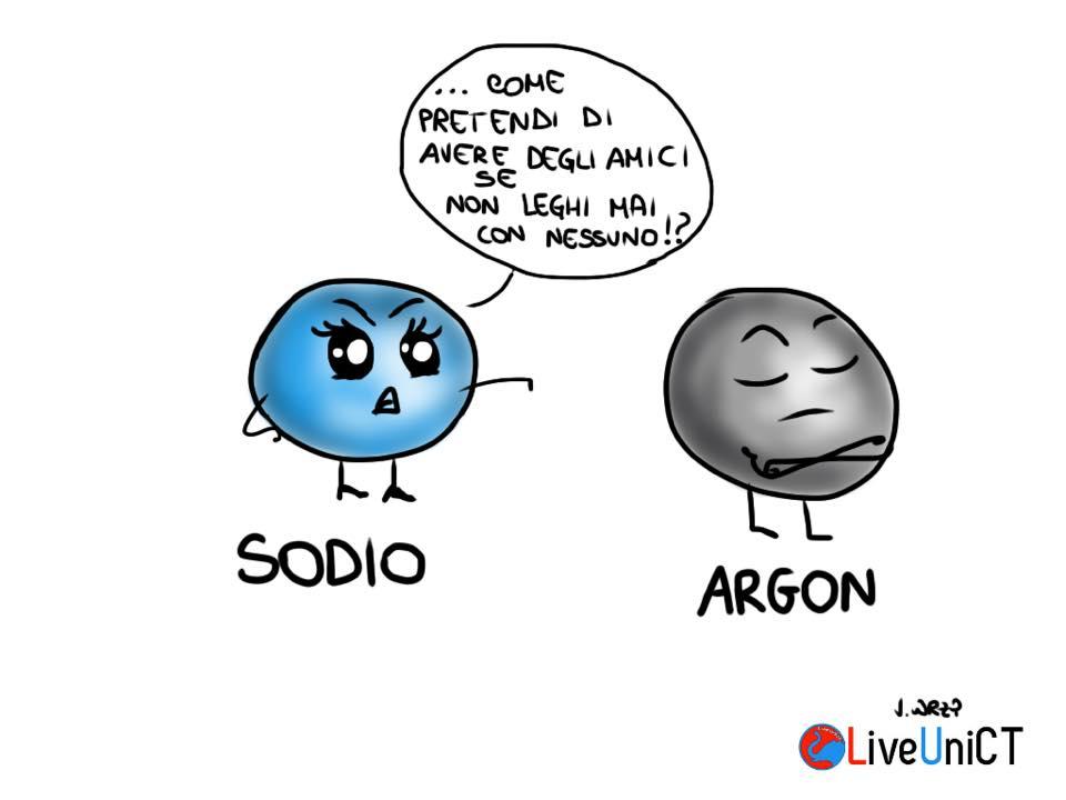 sodio e argon