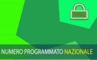 numero programmato nazionale