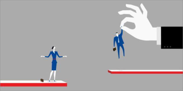 differenze occupazionali uomo donna