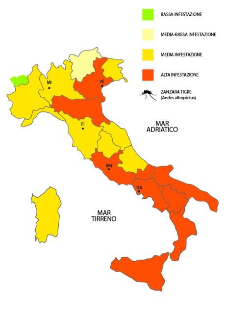 Anticimex_Vape Foundation_Mappa zanzare mese Luglio