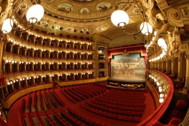 Interno Teatro Massimo Bellini