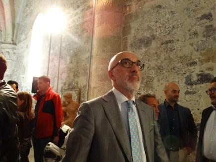 Presenti ospiti d'eccezione come l'ex rettore Giacomo Pignataro.
