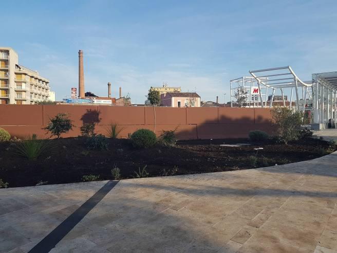 Nuove installazioni verdi alla stazione Giovanni XXIII