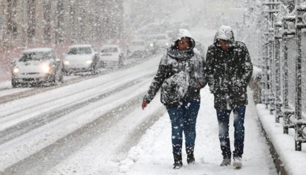 gelo sicilia neve
