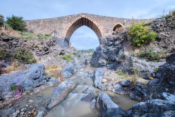 Il Ponte dei Saraceni, tra Adrano e Biancavilla