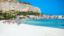 spiaggia a Palermo