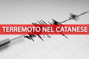 Terremoto in provincia di Catania