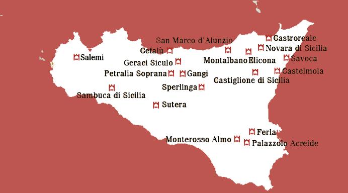 Cartina Sicilia Con Paesi.Borghi Di Sicilia Quali Sono I Centri Piu Belli Da Visitare Liveunict