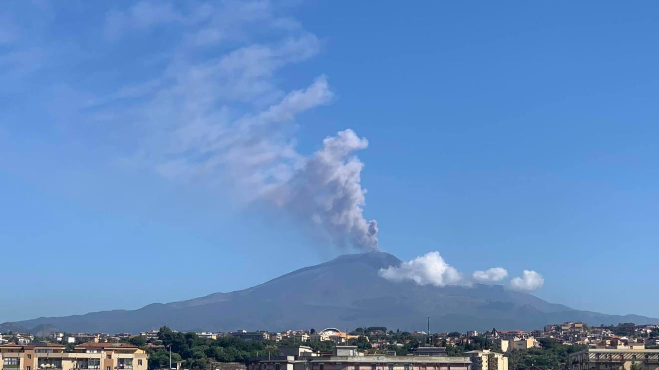 Eruzione dell'Etna 22 maggio