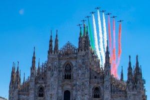 frecce tricolori milano