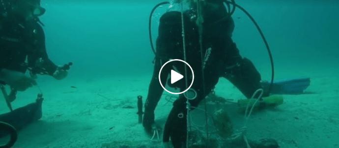 ritrovamento nel mare di Sicilia