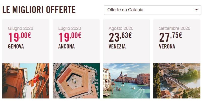 Si torna a volare da a per Catania: le offerte Ryanair ...