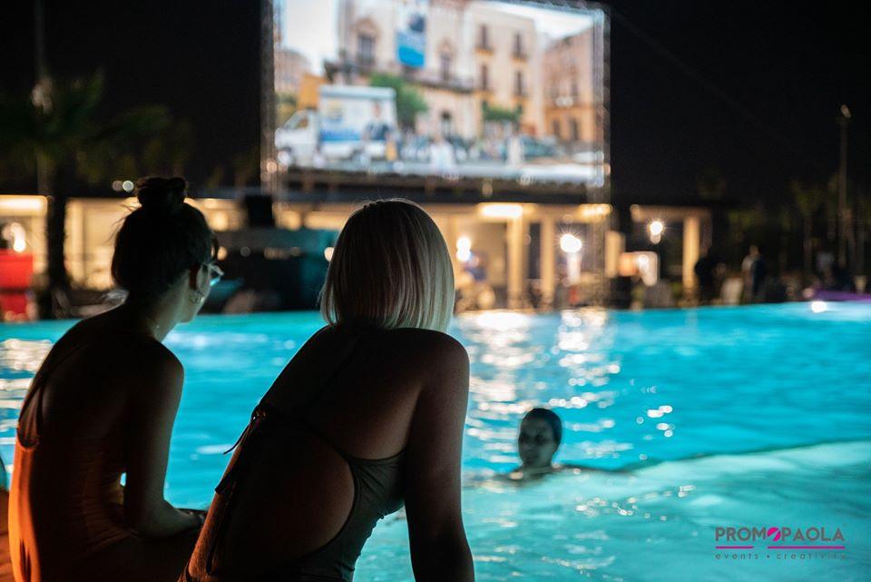 cinema in piscina
