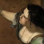 Artemisia Gentileschi autoritratto