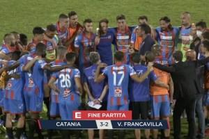 Vittoria Calcio Catania contro Virtus Francavilla