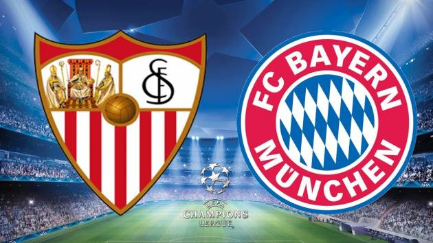 Stasera in TV: Bayern Monaco Vs Siviglia