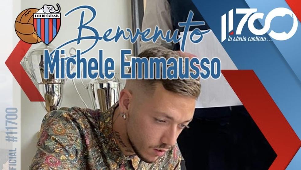 Michele Emmausso Calcio Catania