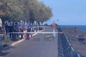 uomo morto al lungomare di Catania