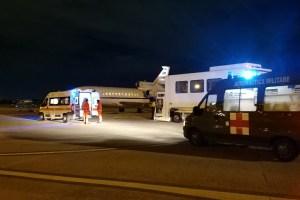 Aeronautica Militare ricovero d'urgenza