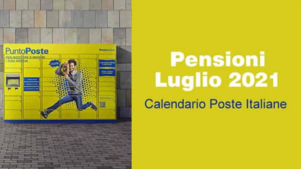 Pagamento pensioni luglio 2021